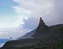 anaga Tenerife Obraz Stock