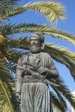 Anaghnostis Mantakas纪念碑在干尼亚州,希腊 库存照片
