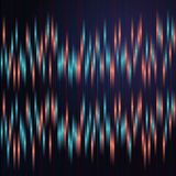 Anaglyph background with blue and red vertical lines. Royalty Free Stock Photography