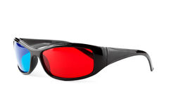 Anaglyph glasses Stock Photo