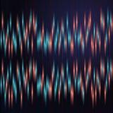 Anaglyphhintergrund mit den blauen und roten vertikalen Linien Lizenzfreie Stockfotografie