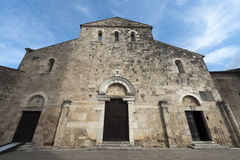 Anagni (Italy) - Medieval cathedral Royalty Free Stock Image