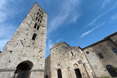 Anagni, Medieval cathedral and belfry Royalty Free Stock Image