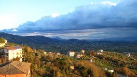 Anagni - un campo italiano Imagen de archivo libre de regalías