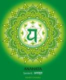Anahata chakra Obraz Royalty Free