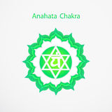 Anahata chakra 免版税图库摄影
