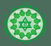 Anahata chakra  illustration Royalty Free Stock Image