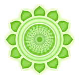Anahata Chakra isolated Royalty Free Stock Image
