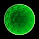 Anahata chakrasymbol Royaltyfria Foton