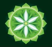 Anahata - el centro del amor y de la cura ilustración del vector