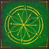 Anahata el chakra del corazón Fotos de archivo