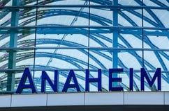Anaheim-Bahnstation - Anaheim, Kalifornien stockfotografie