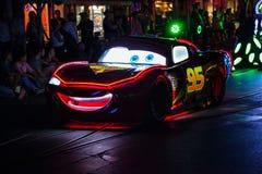 Disneyland`s Paint the Night Parade. ANAHEIM, CALIFORNIA - September 21st, 2015 - Disneyland`s Paint the Night Parade Royalty Free Stock Image