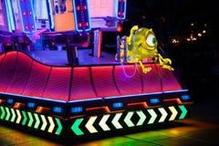 Disneyland`s Paint the Night Parade. ANAHEIM, CALIFORNIA - September 21st, 2015 - Disneyland`s Paint the Night Parade Royalty Free Stock Images