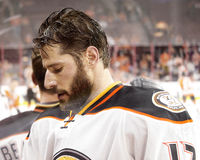 Anaheim Ducks Ryan Kesler Royalty Free Stock Photos