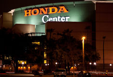 anaheim Kalifornien center honda Royaltyfri Bild