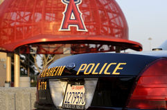 Anaheim Politie Royalty-vrije Stock Afbeelding