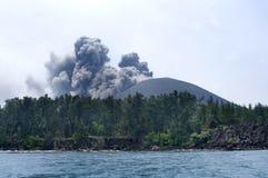 anak ηφαίστειο krakatau έκρηξης Στοκ εικόνες με δικαίωμα ελεύθερης χρήσης