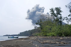 Anak Krakatau, Indonesia royalty free stock photo