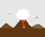 Anak Krakatau, Indonesien Lizenzfreies Stockbild