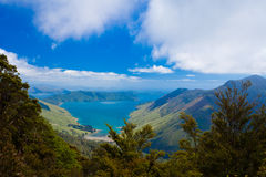 Anakoha Bay of Marlborough Sounds, New Zealand Royalty Free Stock Images