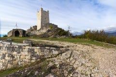 Anakopia fästning i Abchazien nya Athos Royaltyfri Fotografi
