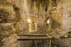 Anakopia fästning i Abchazien nya Athos Arkivbilder