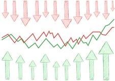 Analítica do negócio Fotos de Stock Royalty Free