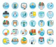 Analice de proceso y de entrega de las compras de Internet libre illustration