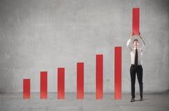 Analisi commerciale Immagine Stock Libera da Diritti