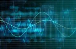 Analisi dei dati di affari illustrazione di stock