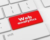 Analisi dei dati di web Fotografia Stock Libera da Diritti