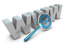 Analisi del Internet, concetto di analisi dei dati di Web Fotografie Stock Libere da Diritti