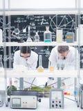 Analisi del laboratorio di chimica Immagini Stock Libere da Diritti