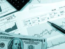Analisi del mercato azionario Immagine Stock Libera da Diritti