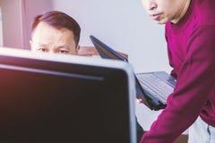 Analisi di investimento aziendale immagini stock