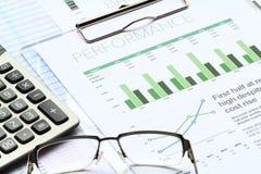 Analisi di investimento aziendale Fotografie Stock Libere da Diritti