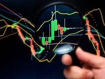 Analisi di riserva Immagine Stock