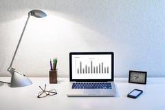 Analisi di strategia aziendale Fotografia Stock