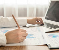 analisi e finanza fotografia stock libera da diritti