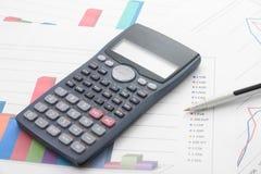Analisi economiche Fotografia Stock Libera da Diritti