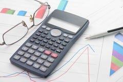 Analisi economiche Fotografie Stock Libere da Diritti