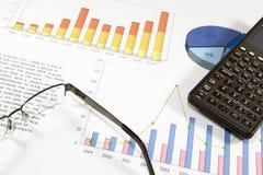 Analisi finanziaria Immagine Stock Libera da Diritti