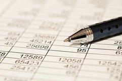 Analisi finanziaria Immagini Stock
