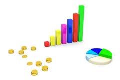 Analisi finanziaria Fotografie Stock