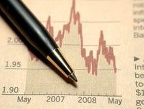 Analisis do negócio Imagens de Stock Royalty Free