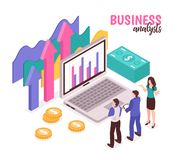 Analista Composition del negocio libre illustration
