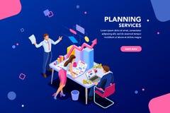 Analista Financial Template para el sitio web libre illustration
