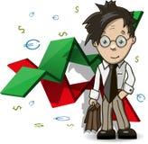 Analista financiero libre illustration