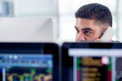Analista finanziario fotografia stock